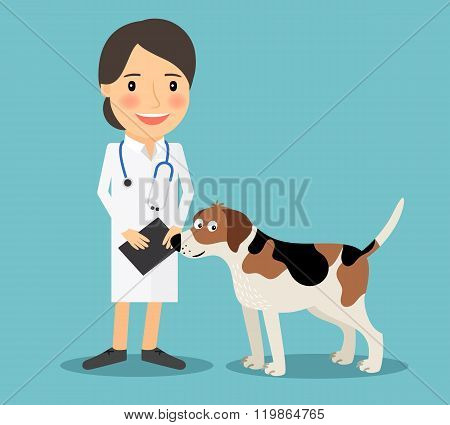 Female Veterinarian Doctor
