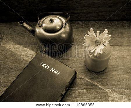 Morning Light Shines Across The King James Bible