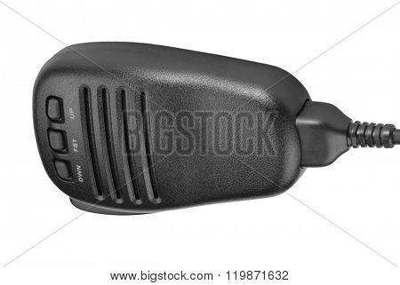 Black Handheld Dynamic Radio Microphone