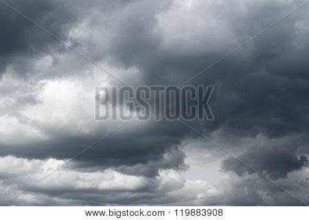 Storm sky rain.