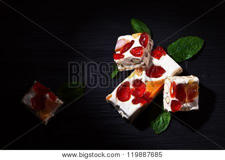 Nougat With Tropical Fruit