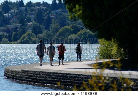 Walk Along Lake