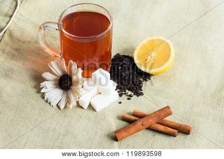 Tea cup acessories set.