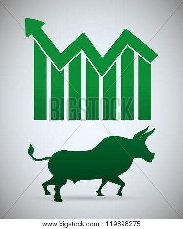 Stock exchange icon design