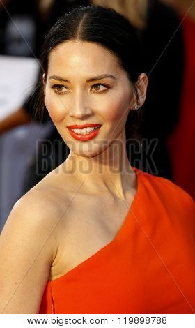 Olivia Munn at the 88th Annual Academy Awards held at the Hollywood & Highland Center in Hollywood, USA on February 28, 2016.