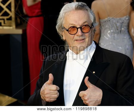 George Miller at the 88th Annual Academy Awards held at the Hollywood & Highland Center in Hollywood, USA on February 28, 2016.