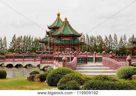 Ancient Siam (ancient City, Muang Boran) Park.