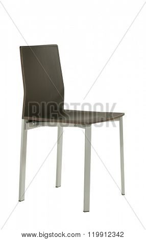 dinning table chair isolated on white
