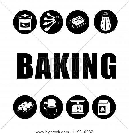Baking icon design