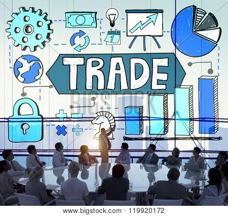 Trade Transaction Business Economy Swap Concept