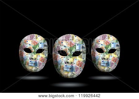 Mask With Money