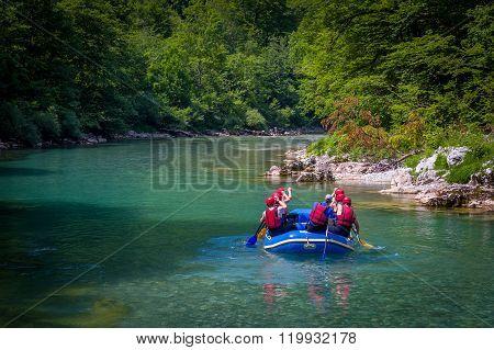 Rafting in Montenegro, river Tara