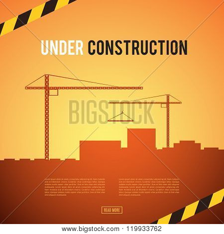 Building under Construction site