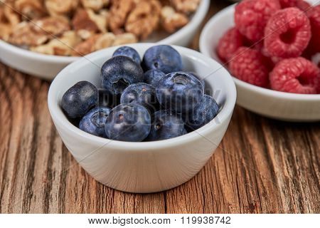 Raspberries And Other Super Food