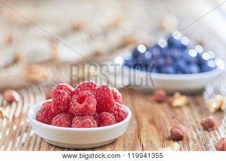 Antioxidant Breakfast In The Morniing Light