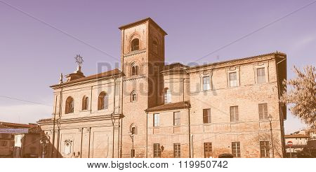 Church Of Sant Antonio Meaning St Anthony In Chieri Vintage
