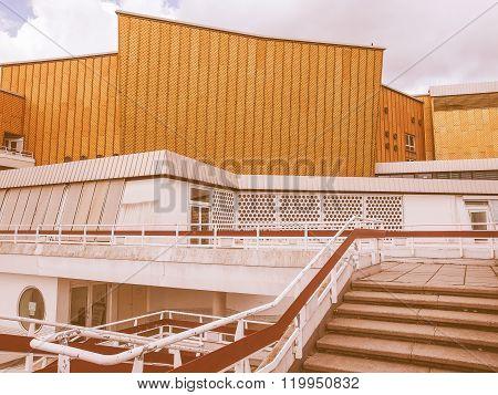 Berliner Philharmonie Vintage