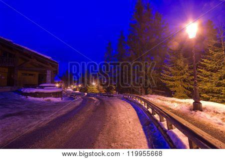 Winter Night, France