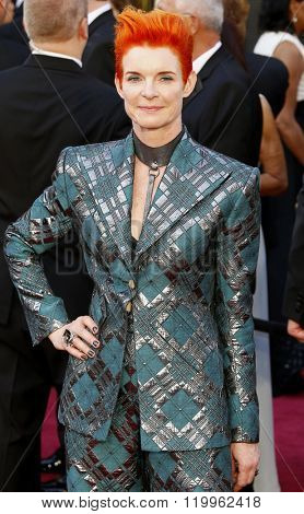 Sandy Powell at the 88th Annual Academy Awards held at the Hollywood & Highland Center in Hollywood, USA on February 28, 2016.