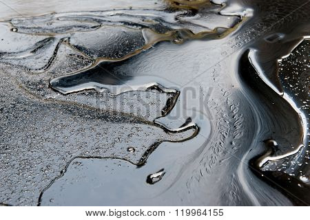Crude Oil Surface Textured