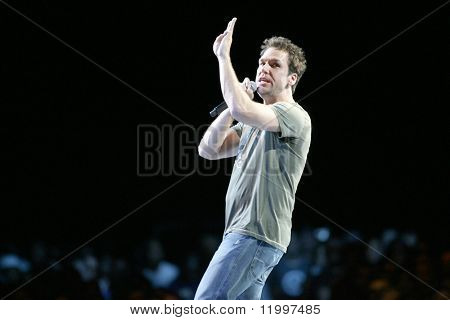 ATLANTIC CITY, NJ - SEPTEMBER 6: Comedian Dane Cook performs at the Trump Taj Mahal on September 6, 2009 in Atlantic City, NJ.