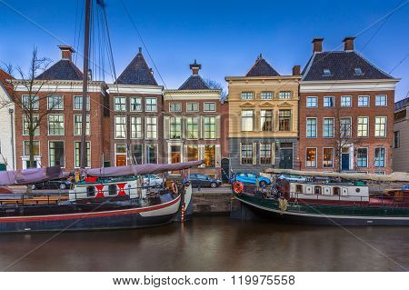 Historic Boats And Buildings Groningen