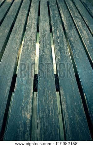 Close Up Old Table Wood Plank Background