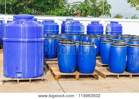Chemical Tank In Factory
