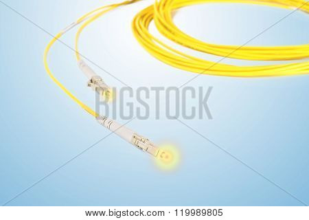 Fiber Optic Patchcord With Lighting Effect