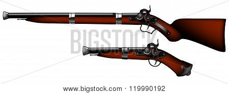 Old Rifles And Pistols