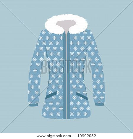 Male and Woman Winter Jacket