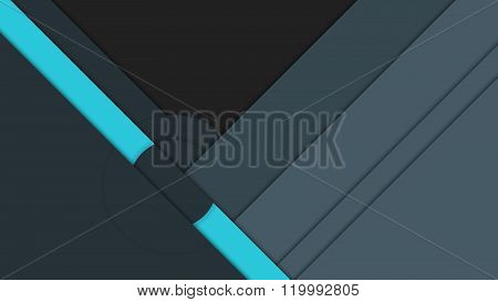 Material design background vector layout