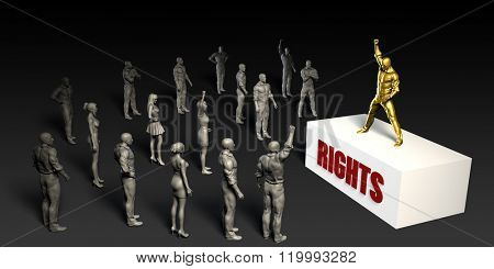 Rights Fight For and Championing a Cause