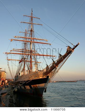 Tall Ship, Poole Harbour
