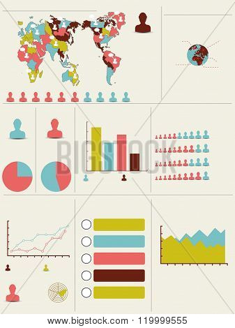 Infographic Demographic Modern New Style