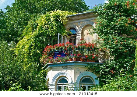 Romantic balcony