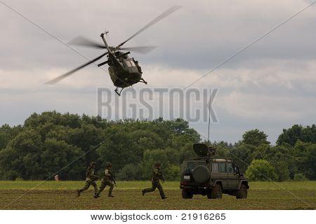 Military Demonstration