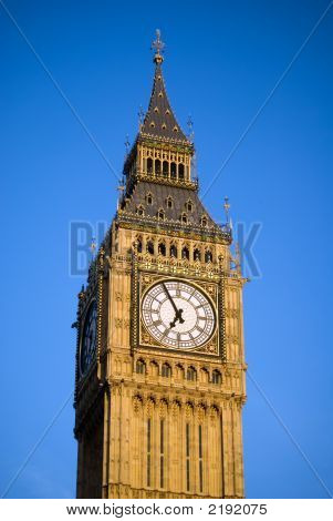 Close Up Big Ben