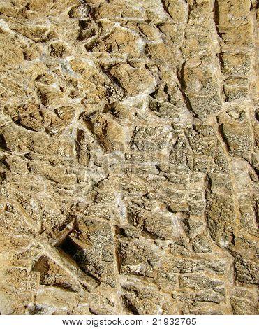 dark yellow river stone texture