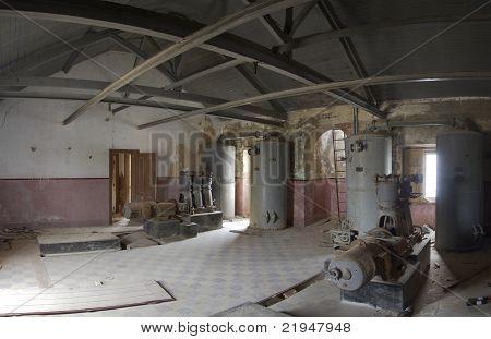 Abandoned Generator Engine Room