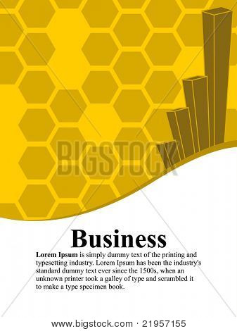 business concept background, illustration