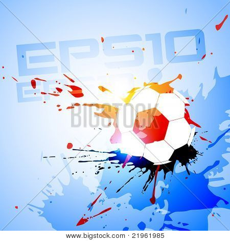 abstract vector football background design background