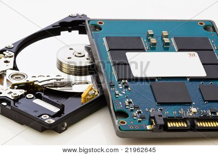 Ssd Vs Hdd, New Vs Old, New Technology With No Mechanical Elements