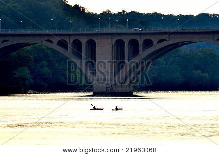 Symmetric Key Bridge and Rowers