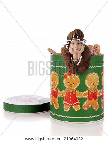 Living Gingerbread In A Tin