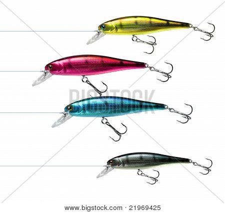 Fishing Lures Cmyk