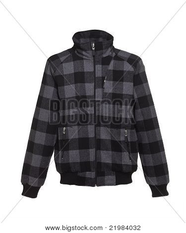 Jacket chequered