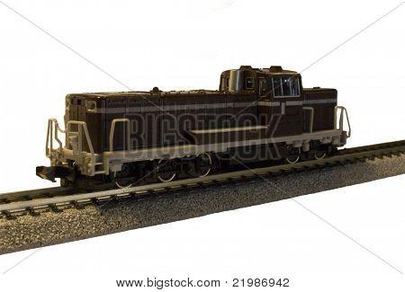 Model Train Locomotive