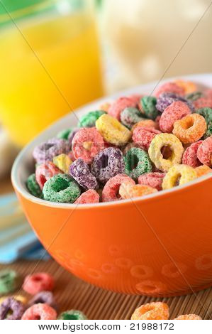 Colorful Cereal Loops