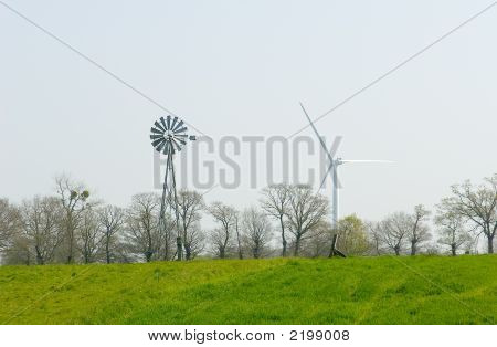 Wind Pump And Wind Turbine